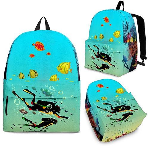 Scuba Theme Backpack
