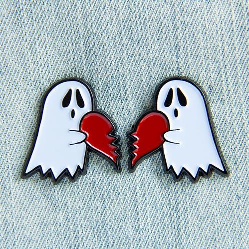 Adorable Ghost Enamel Pins