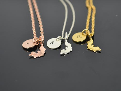 Personalized Gothic Necklaces