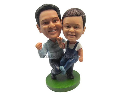 Father and Son Bobbleheads