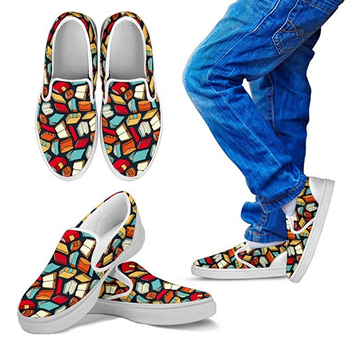 Book Themed Shoes