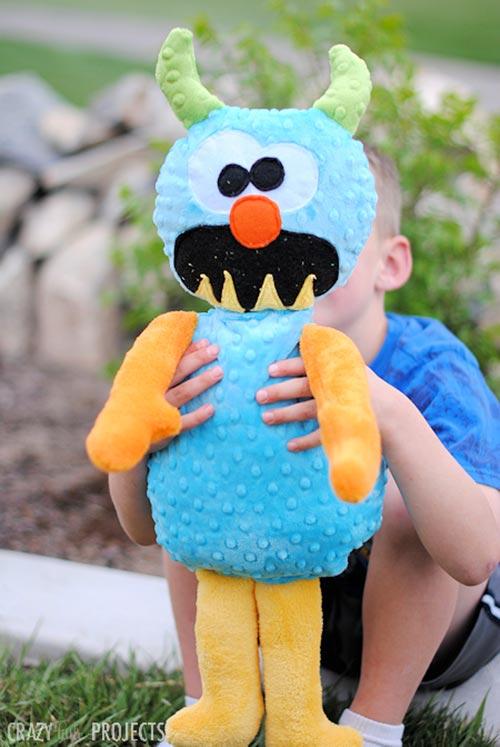 DIY Monster Stuffed Animal