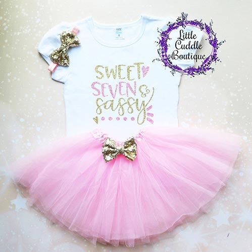 Sweet, Seven, Sassy Girl Outfit