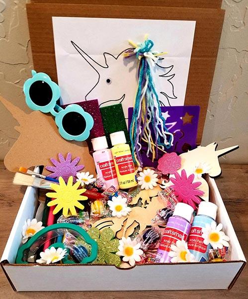 Unicorn Art Box for Little Kids