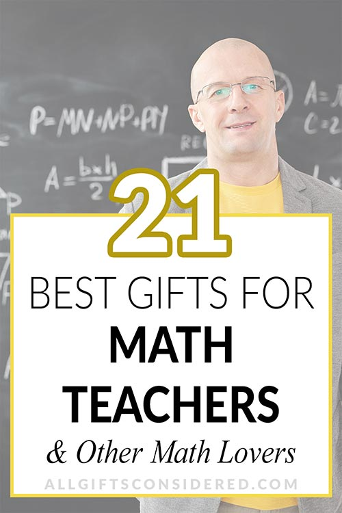 21 Gifts for Math Lovers