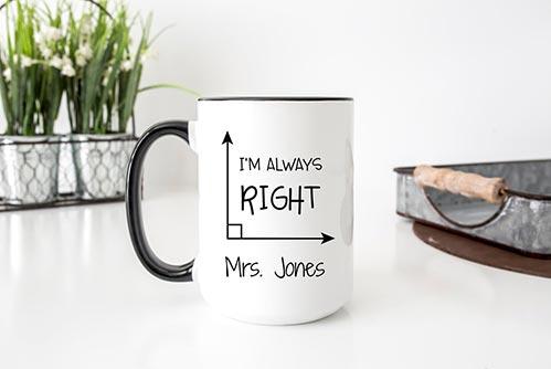 """I'm Always Right"" Mug"