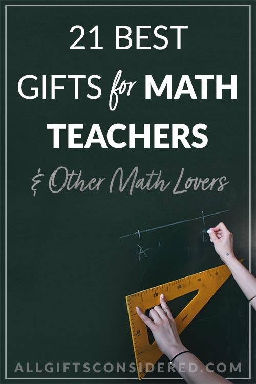 Best Gifts for Math Teachers