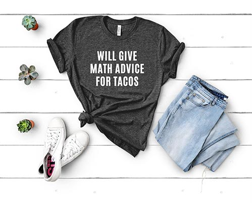 Funny T-Shirts for Math Lovers
