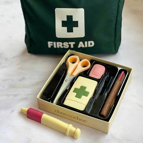 Chocolate Medical Kit