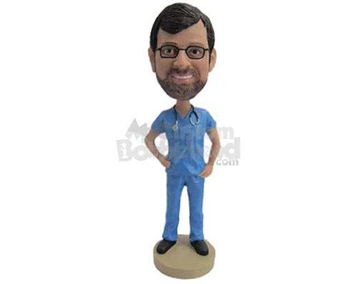 Custom Bobbleheads for Doctors and Nurses