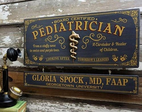 Personalized Profession Sign