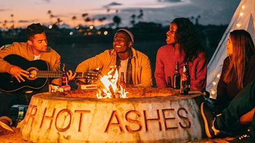 Going Away Party Ideas: Backyard Bonfire