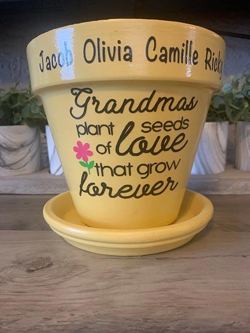 Grandma's Plant Pot
