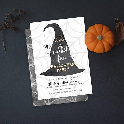Halloween Invites: Wicked Fun