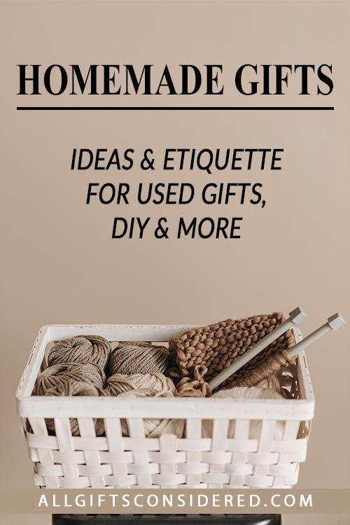 Best Gift Guide to Homemade Gifts