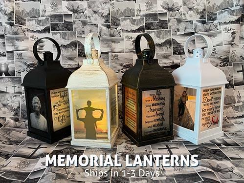 Photo Memorial Lantern