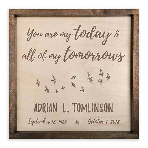 You Are My Today & All of My Tomorrows