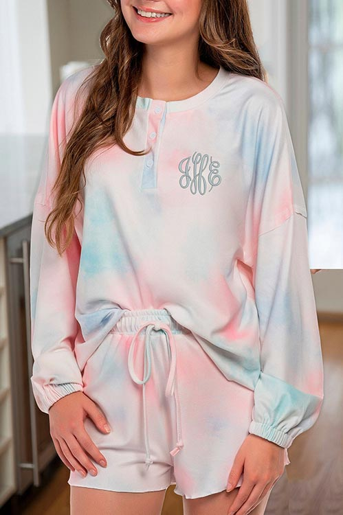 Adorable Pink and Blue PJs