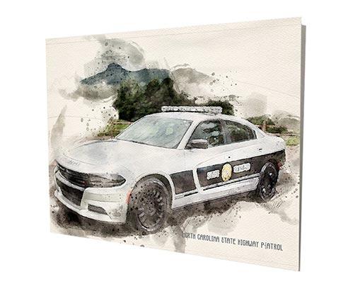 Cool Artwork for Highway Patrol