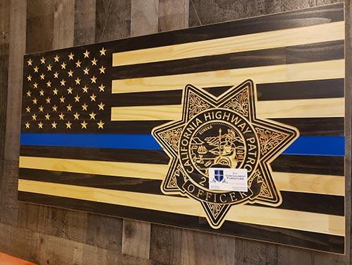 Highway Patrol Wall Decoration