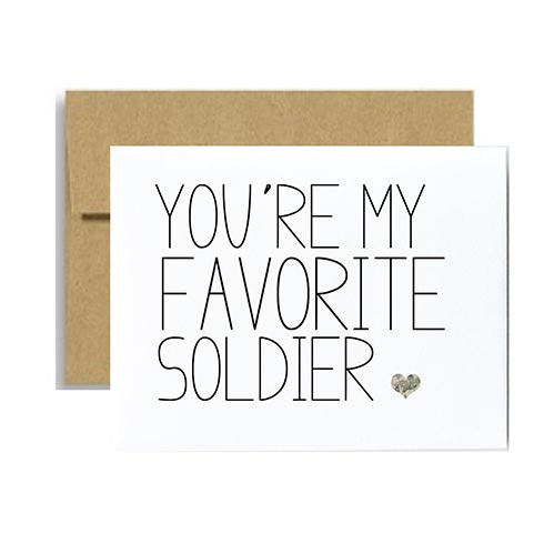 Cards for Your Favorite Soldier