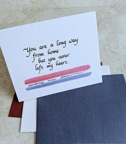Long Way From Home - Card