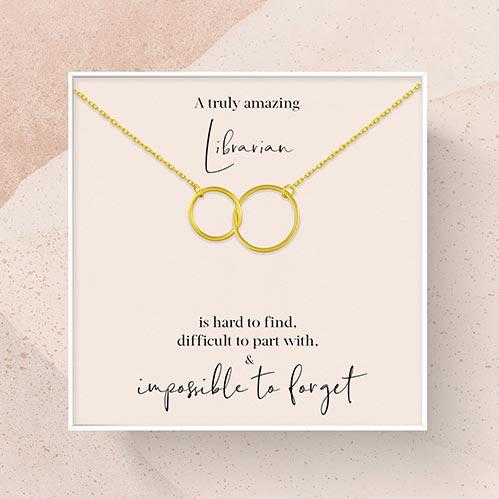 Librarian Appreciation Necklace