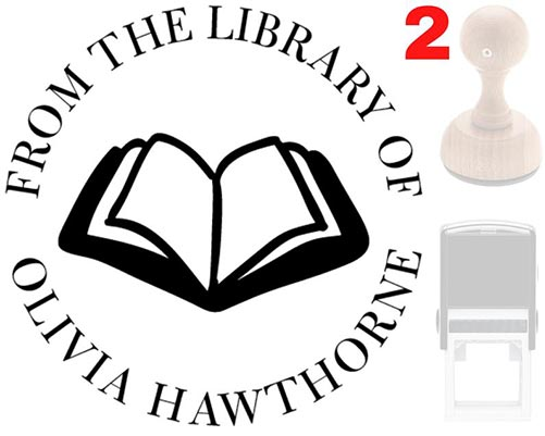 Book Stamps for Librarians
