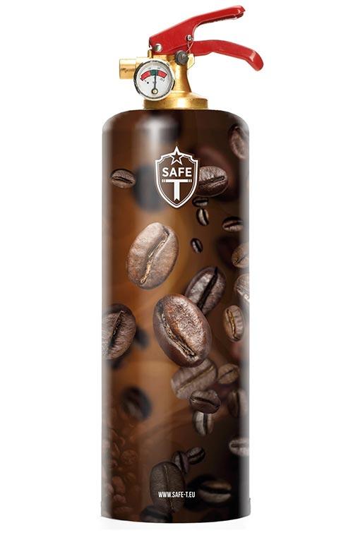 Designer Fire Extinguishers- Coffee