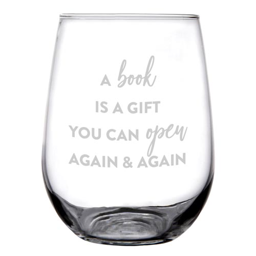 Wine Glasses for Librarians