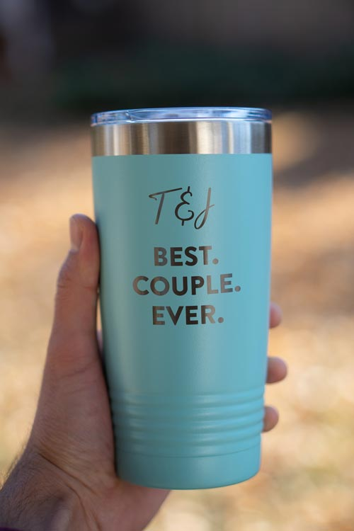 Personalized Tumbler Couple Gifts
