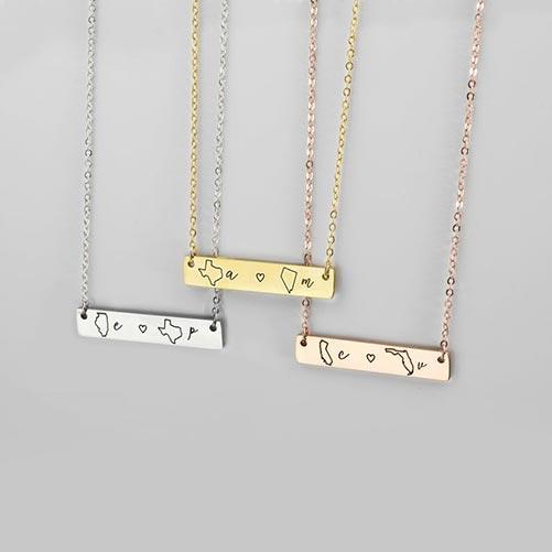 Metal Engraved Bracelet