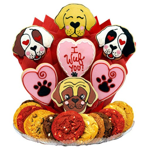 I Wuf You Cookie Tray