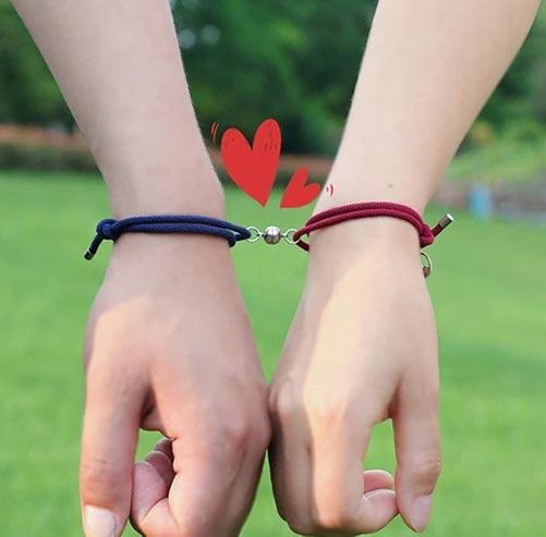 Magnetic Long Distance Couples Bracelets