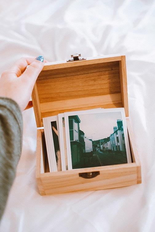 DIY Gift Ideas: Memory Box
