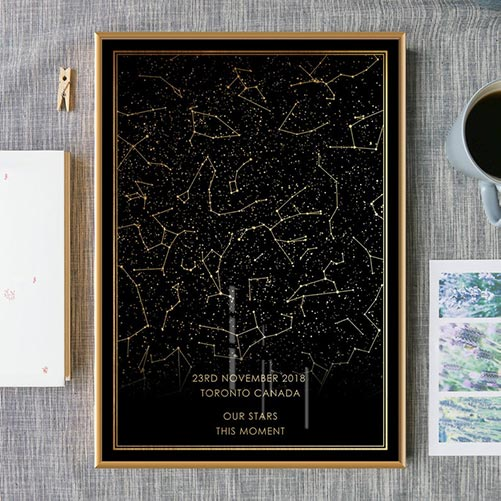 Personalized Starry Night Print