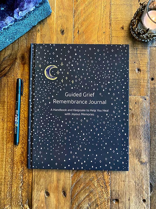 Guided Grief Journal for Loss of Mom