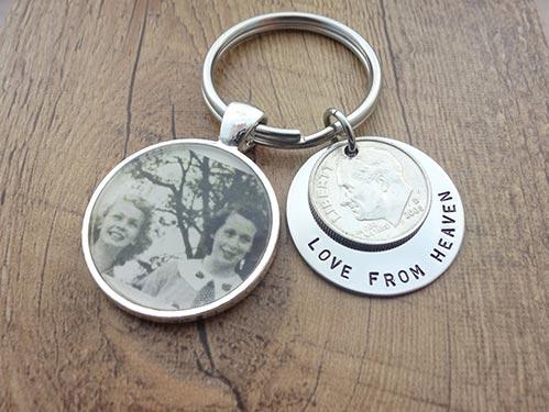 Love From Heaven Keychain