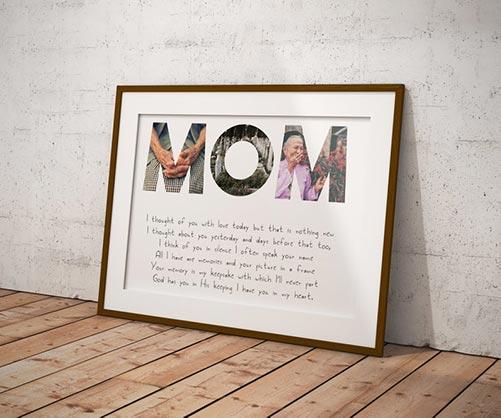 Photo Memorial Frame
