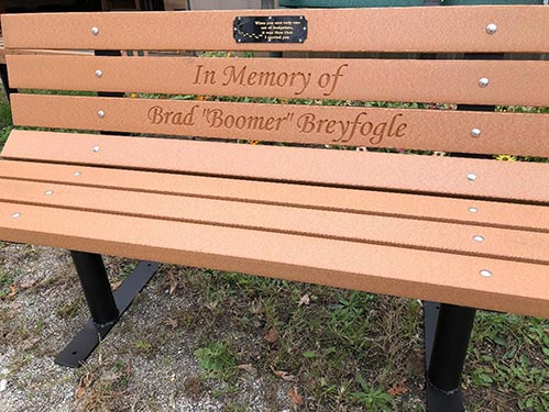 In Memory of Bench