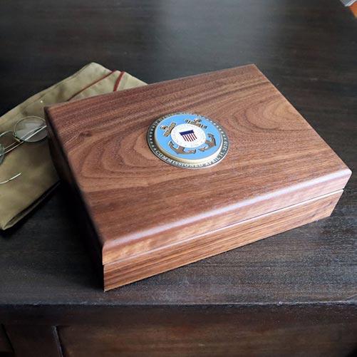 Coast Guard Keepsake Box