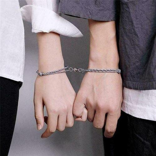 Metal Long Distance Bracelets