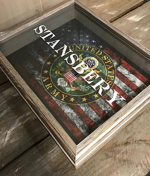 US Army Shadow Box