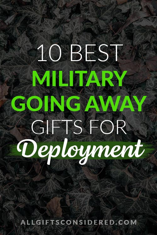 10 Best Military Deployment Gifts