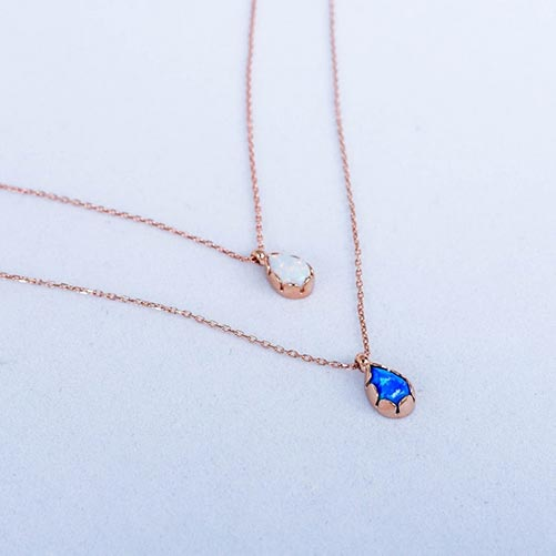 Elegant Stone Necklaces