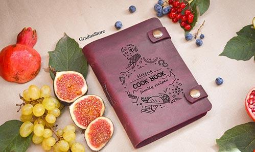 Custom Cookbooks for Mom