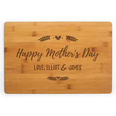 Happy Mother's Day Cutting Board