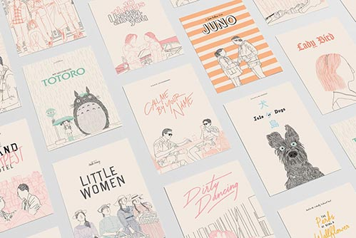 Movie Fan Gift Ideas: Poster Cards