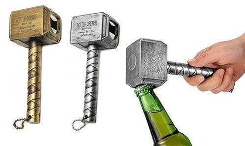 Gifts for Marvel Fans: Thor Bottle Opener