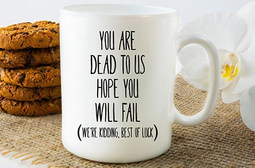 Funny Gifts for Leaving Coworkers